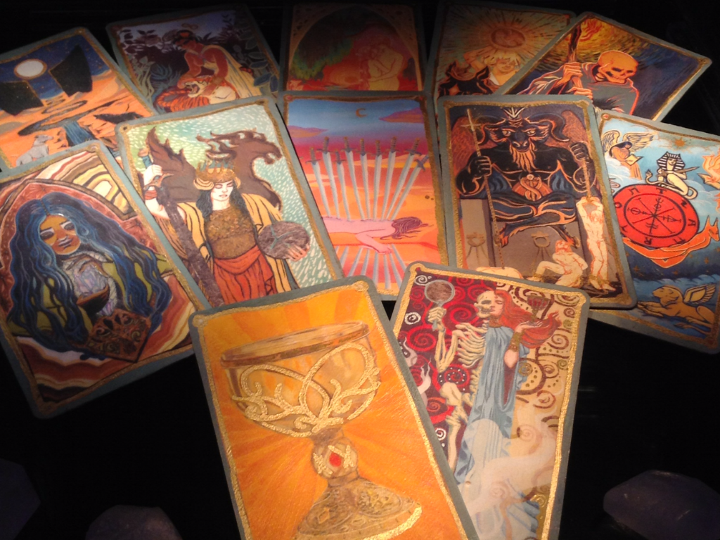 The Mortal Instruments, City of Bones, Tarot Card, The Moon WC |Mortal Instruments Cards