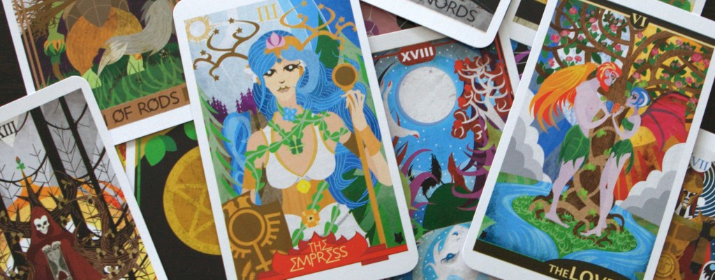 The Ellis Tarot Deck Banner