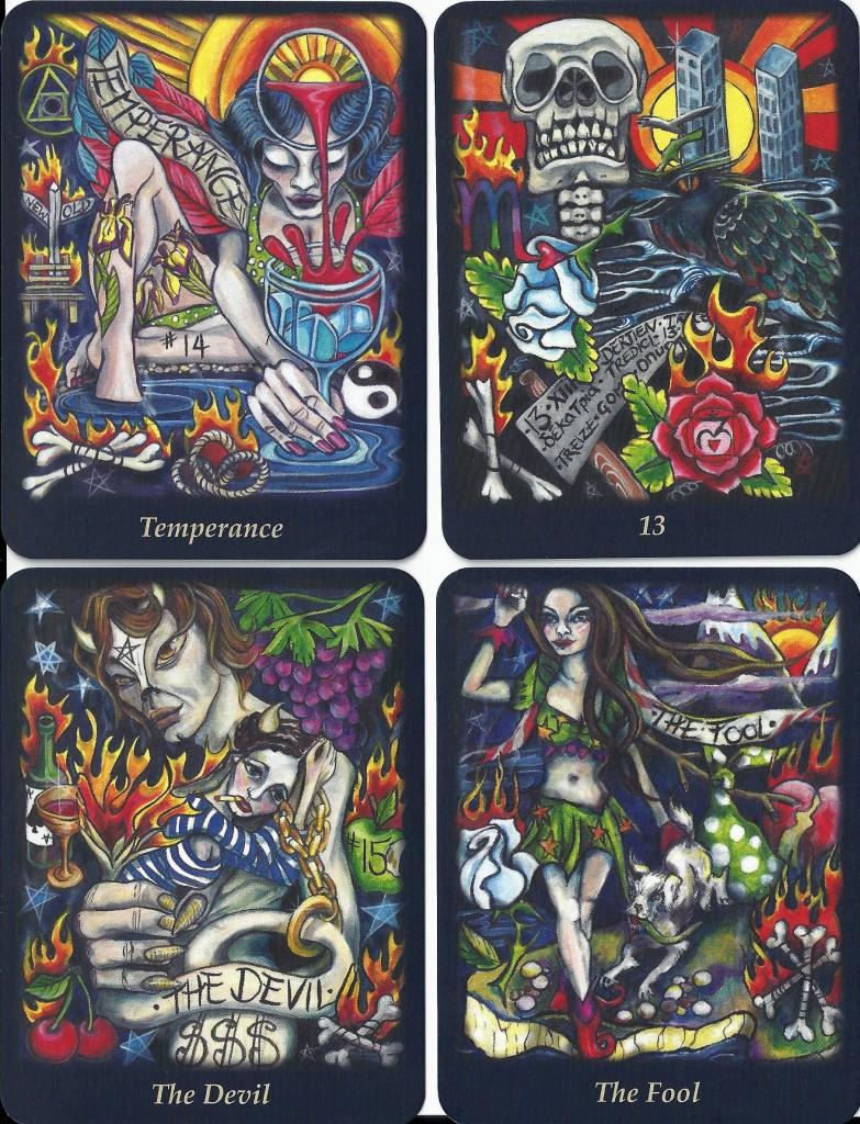 Bonefire Tarot 4