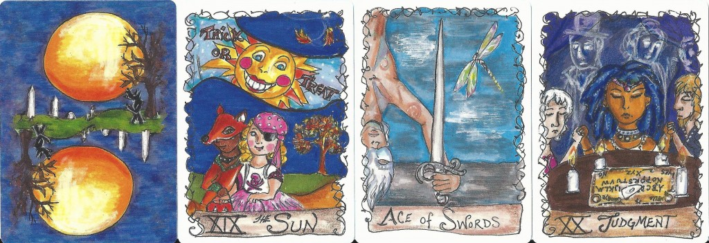 All Hallows Tarot 3