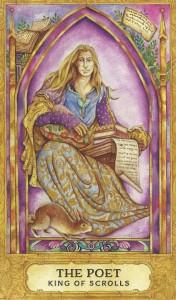King of Scrolls Chrysalis Tarot