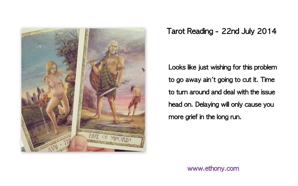 22nd July Tarot Reading