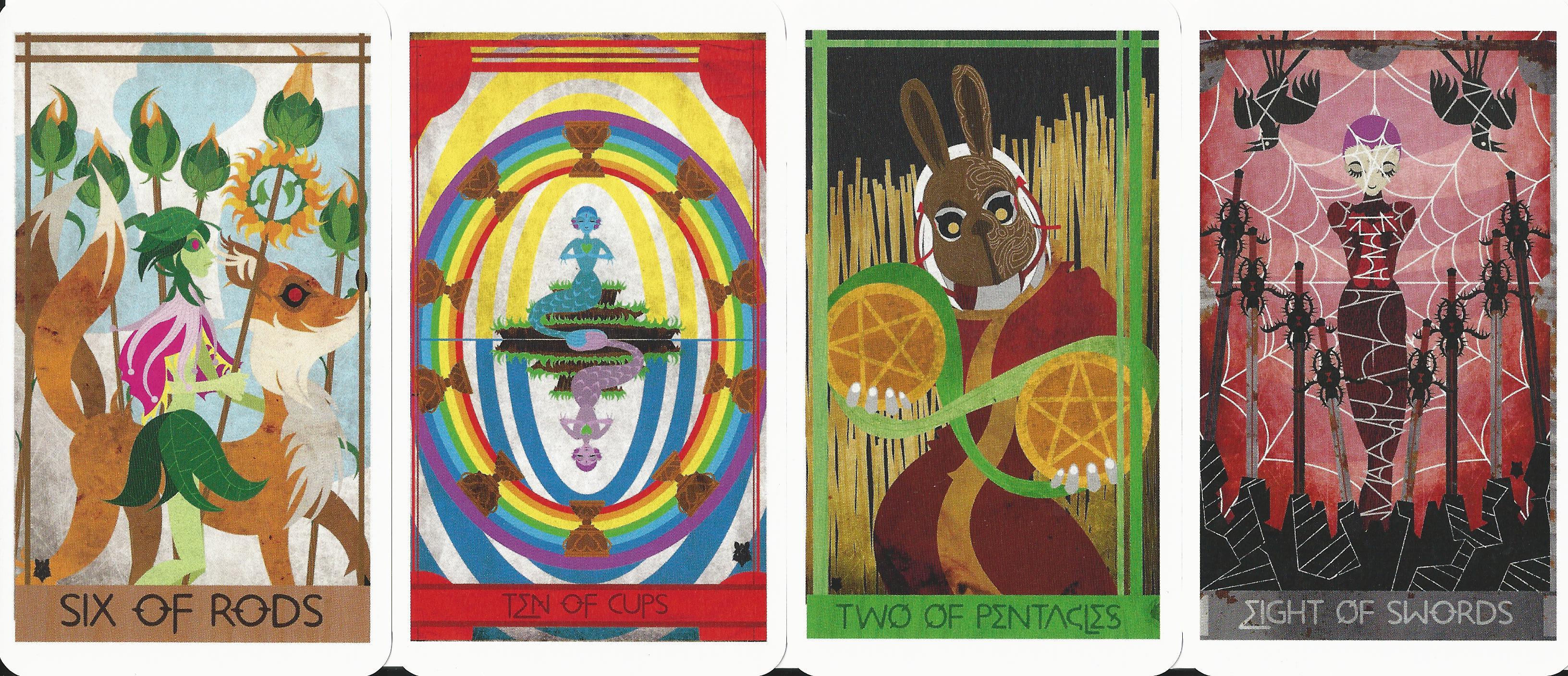 Artistic Tarot Decks Ellis Tarot Deck