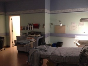 Our birth suite in Hospital
