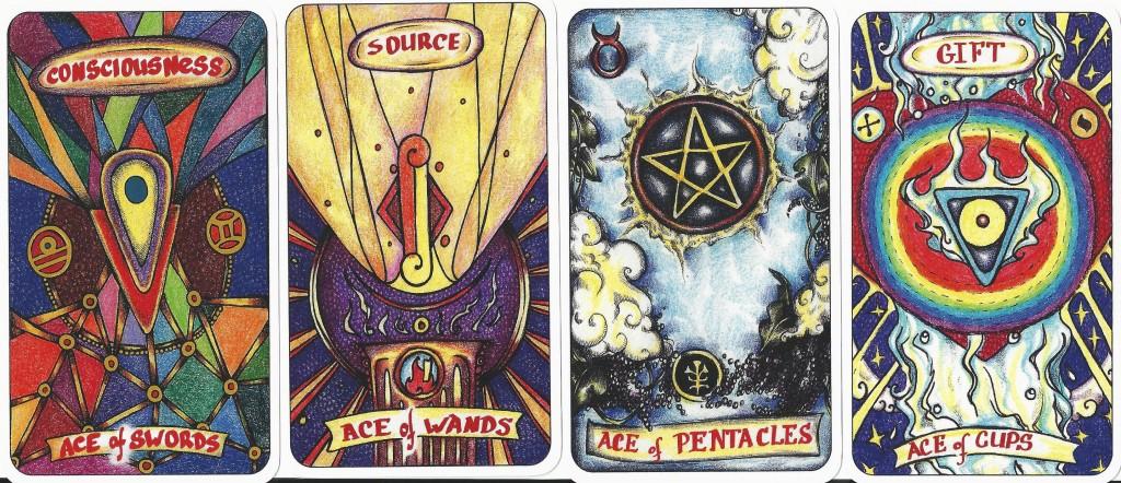 illusori tarot the aces