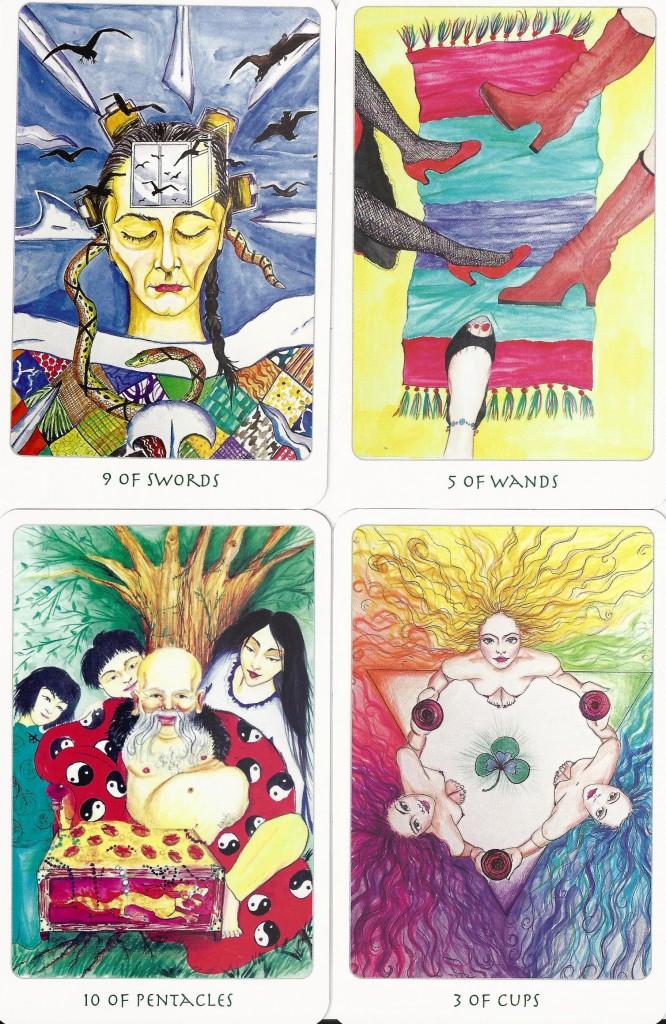 Clover Tarot 3