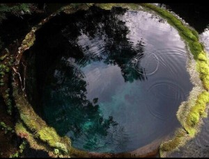 Natural Scrying Pool