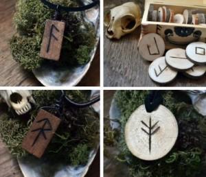 Runes Wooden