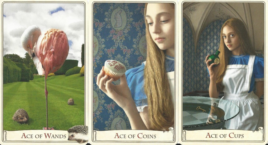 The Alice Tarot Aces
