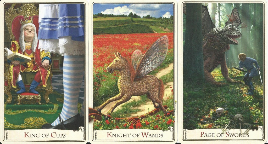 The Alice Tarot Court Cards