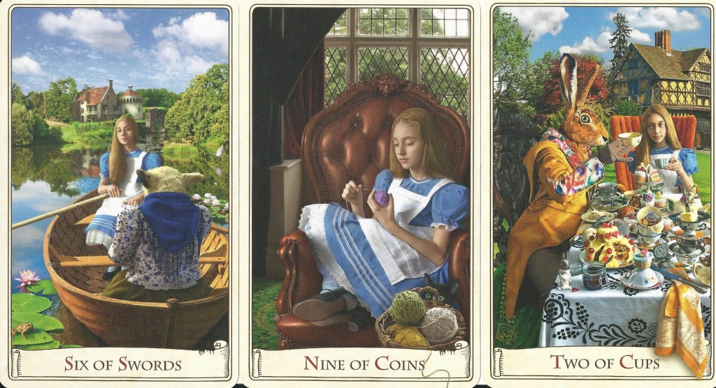 The Alice Tarot Minor Arcana