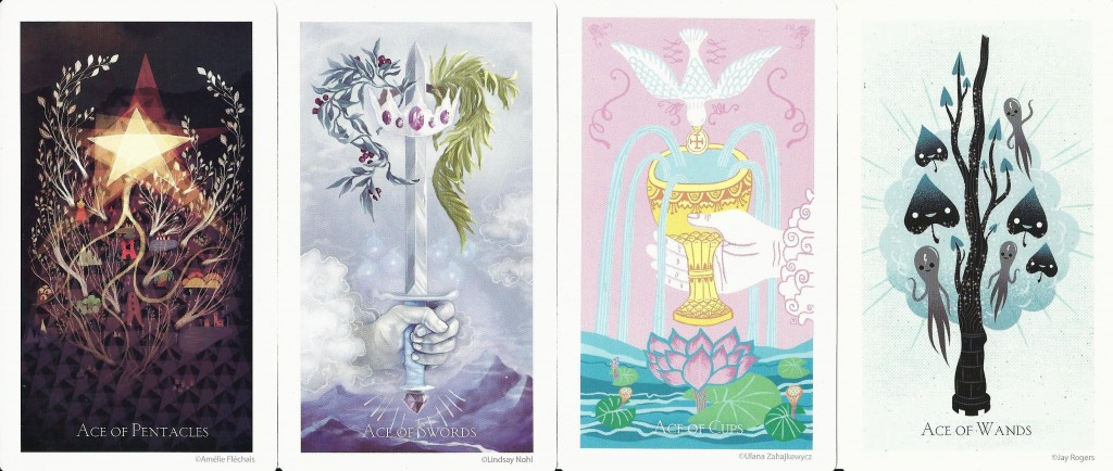 The Light Grey Tarot Aces