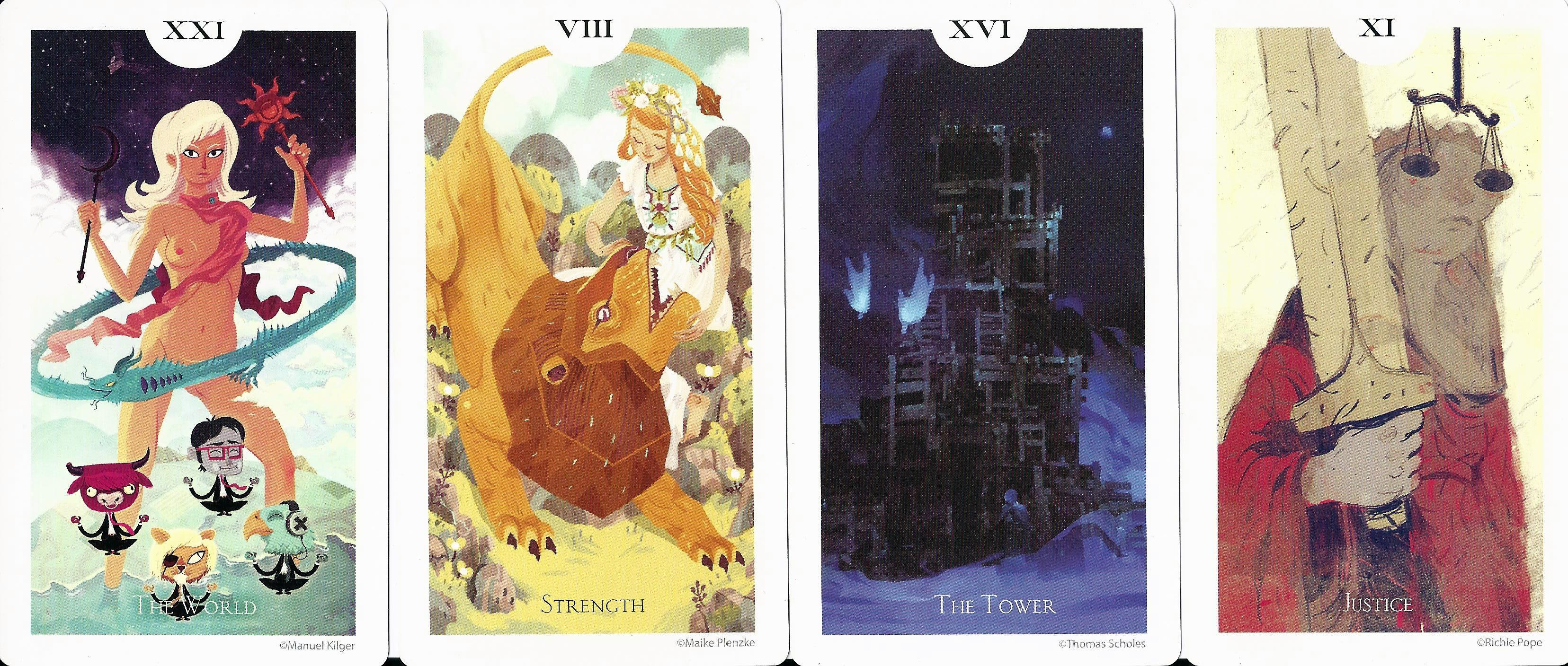 Artistic Tarot Decks Collaborative Tarot Decks