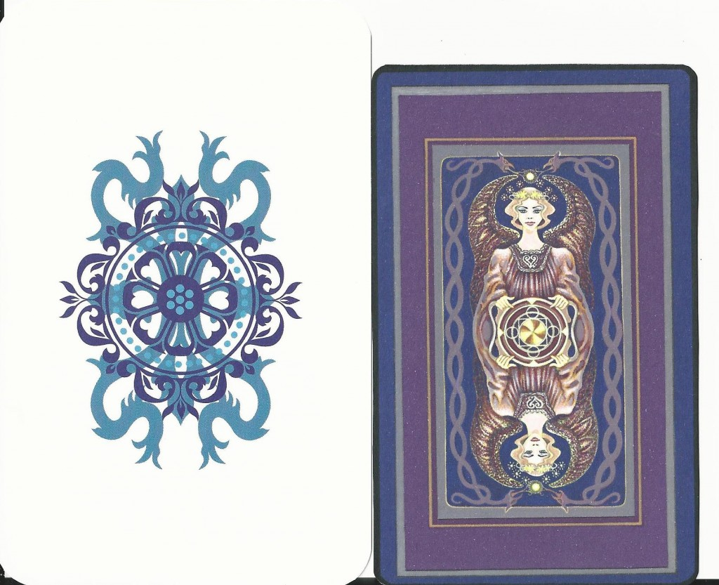The Sacred Isle Tarot Backs