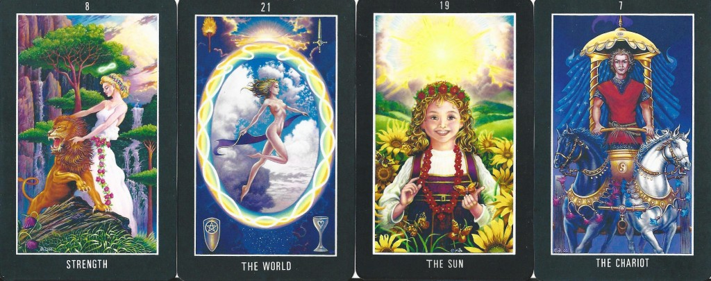 The Sacred Isle Tarot Major Only
