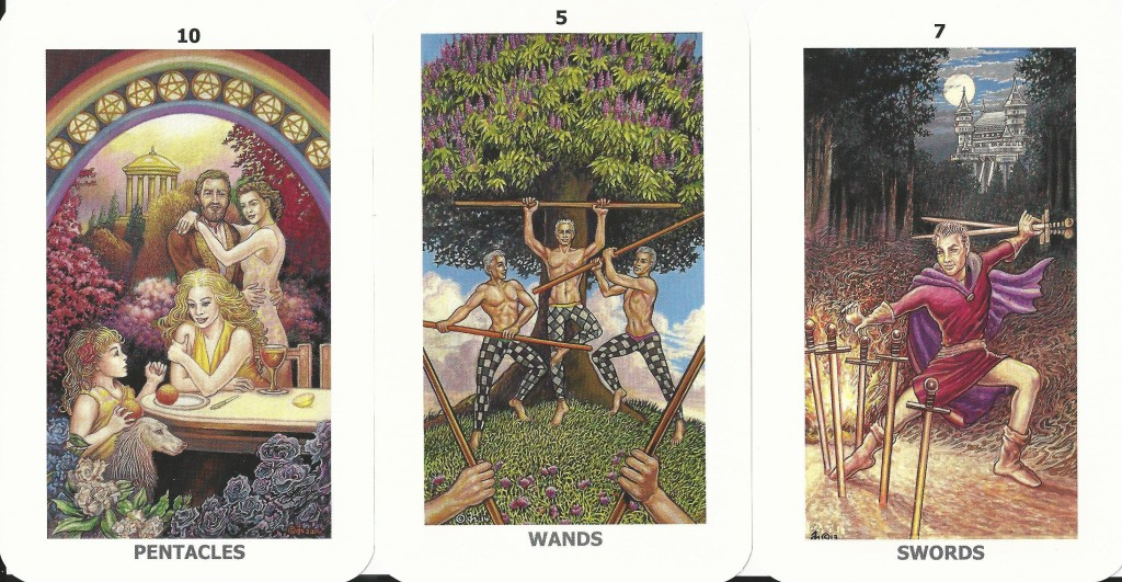 The Sacred Isle Tarot Minor Arcana