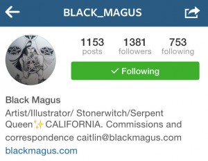 Black_Magus Instagram