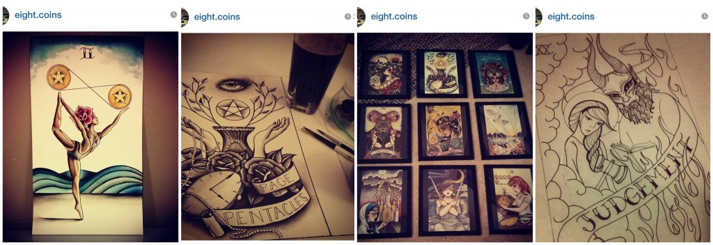 Eight.Coins Tarot