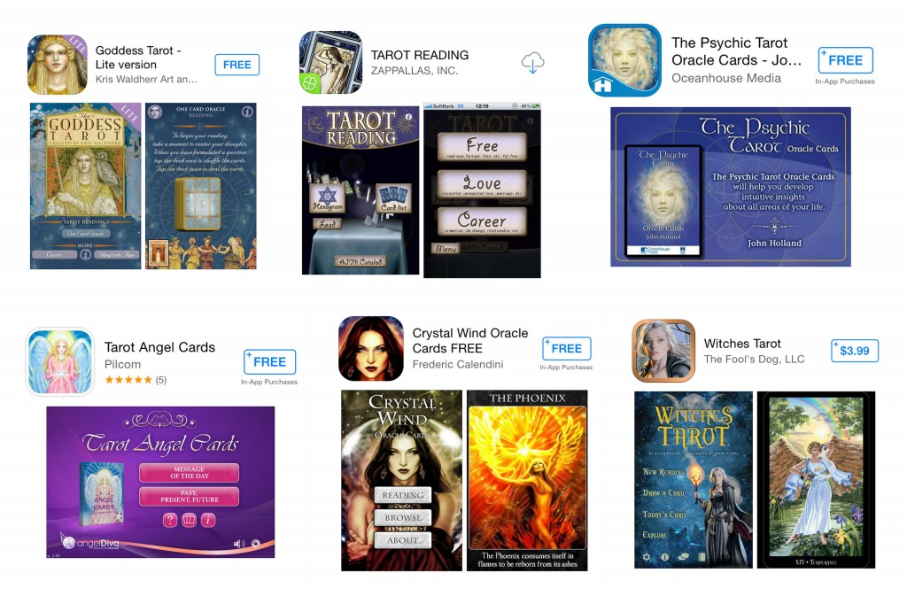Tarot Apps