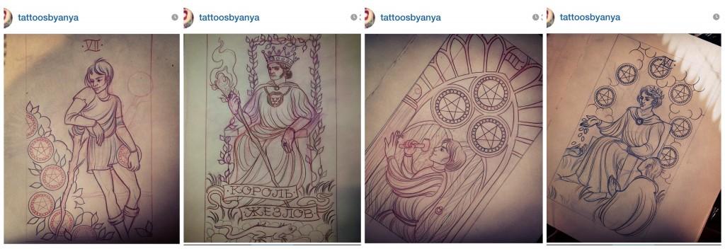 Tattoosbyanya Tarot