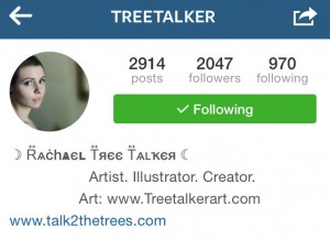 Tree Talker Instagram