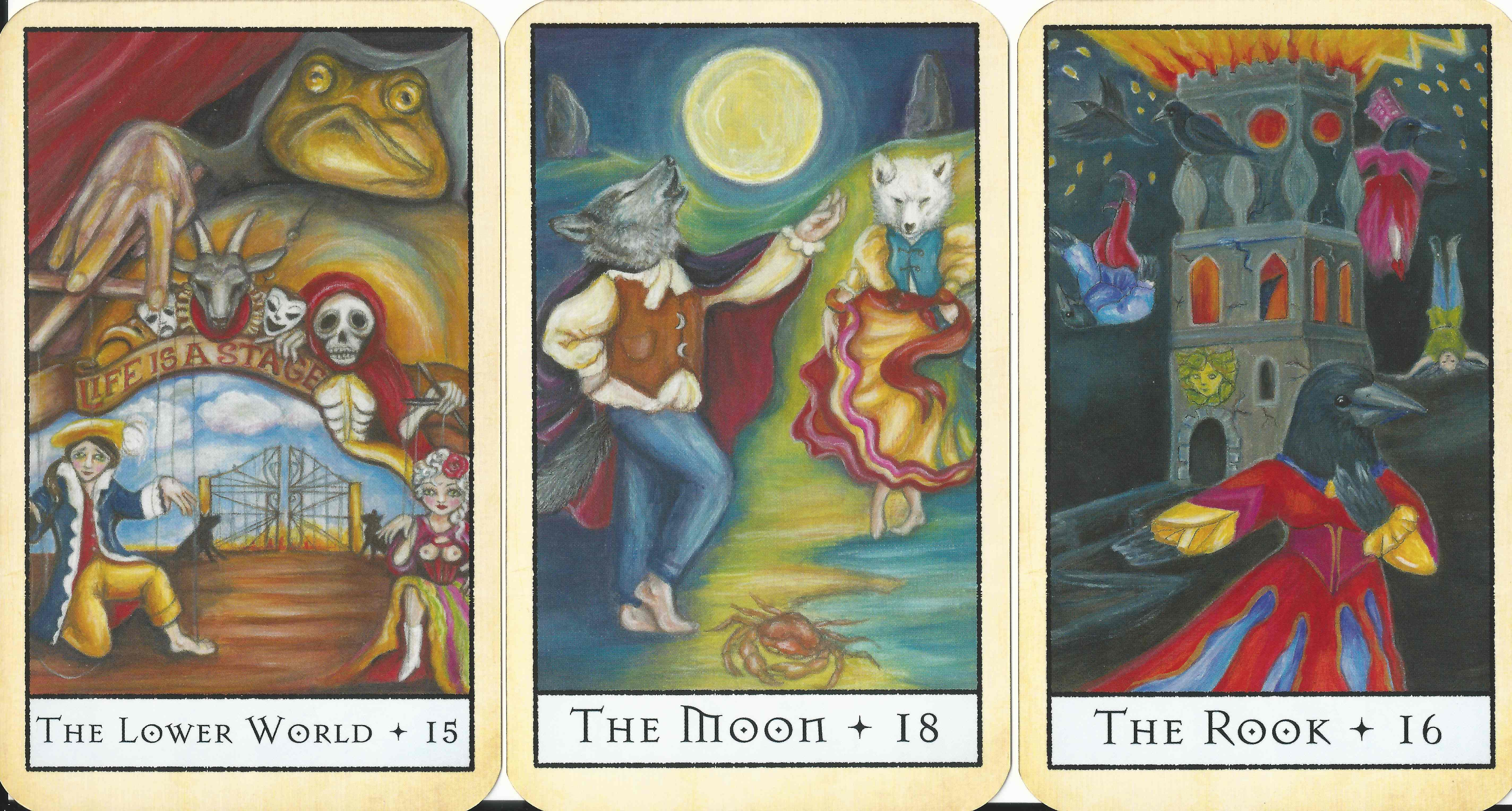 The Bohemian Animal Tarot Review and Video - Ethony
