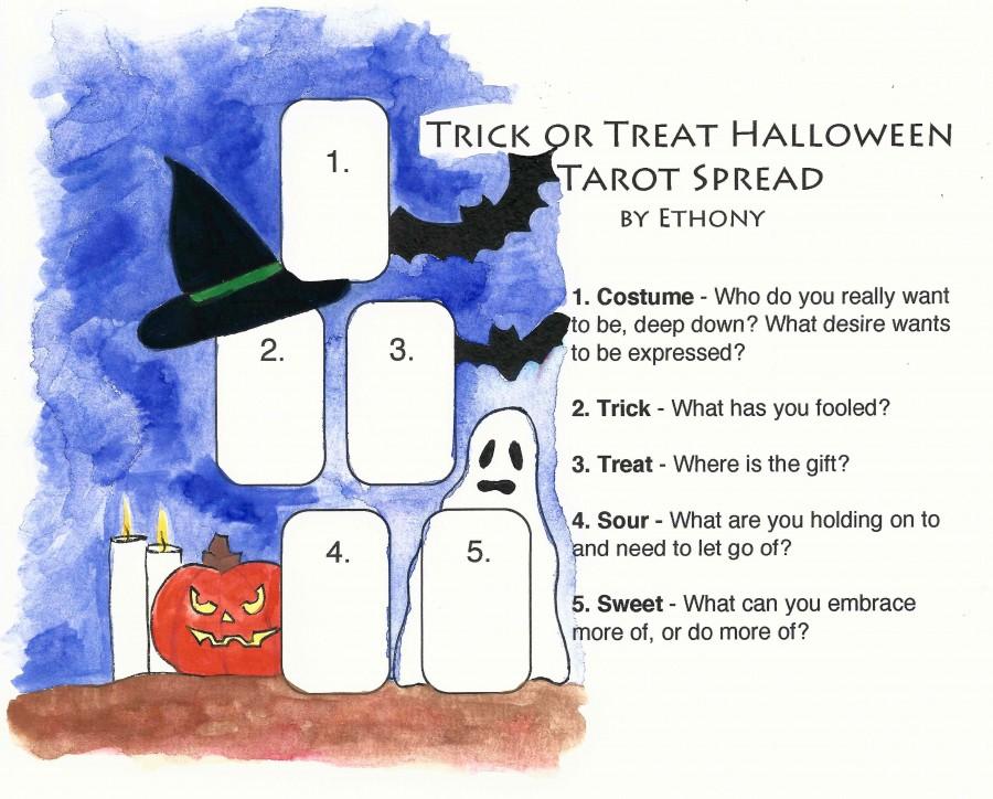 Trick or Treat Tarot Spread