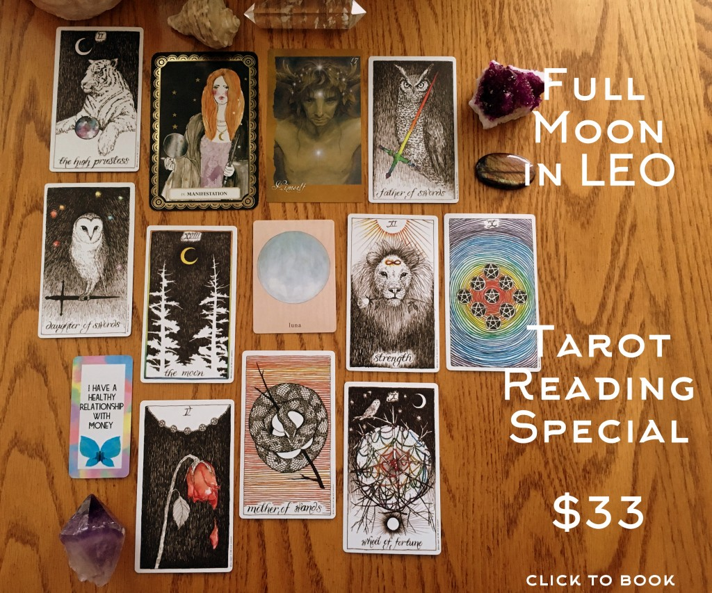 Full Moon in Leo Tarot Special