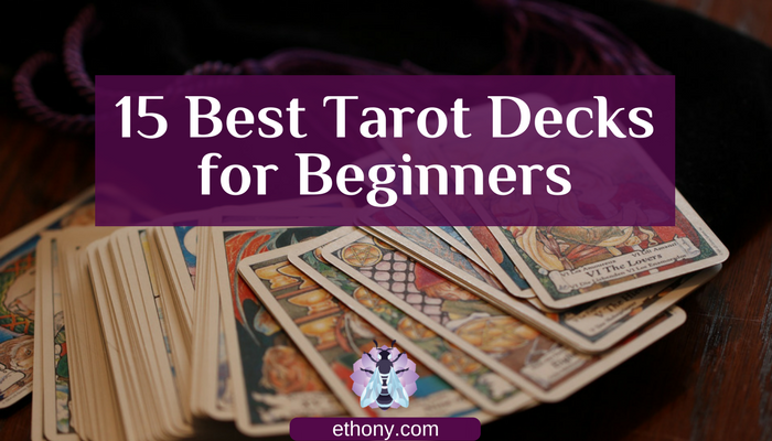 Title image with tarot cards fanned out and title in white type above