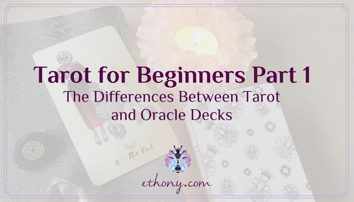 Tarot for Beginners Part 1