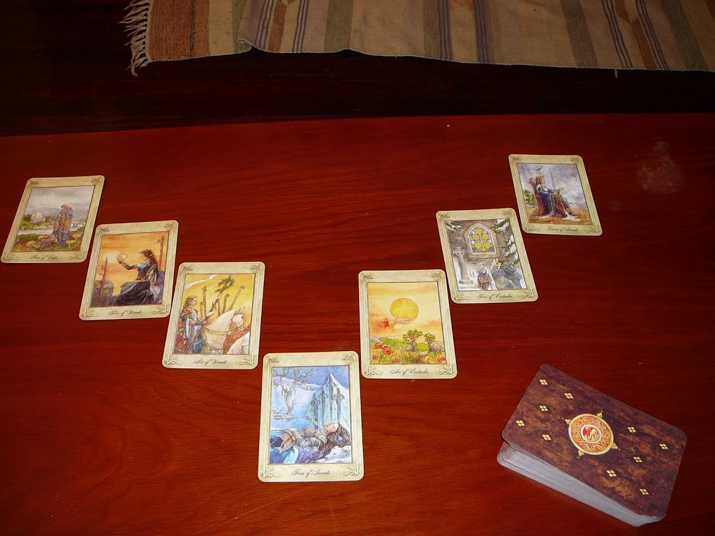 Reading with the Llewellyn Tarot - Ethony