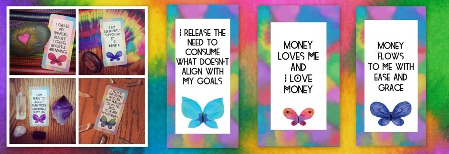 Money Magic Manifestation Cards7