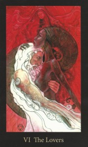 The Lovers Mary-El Tarot