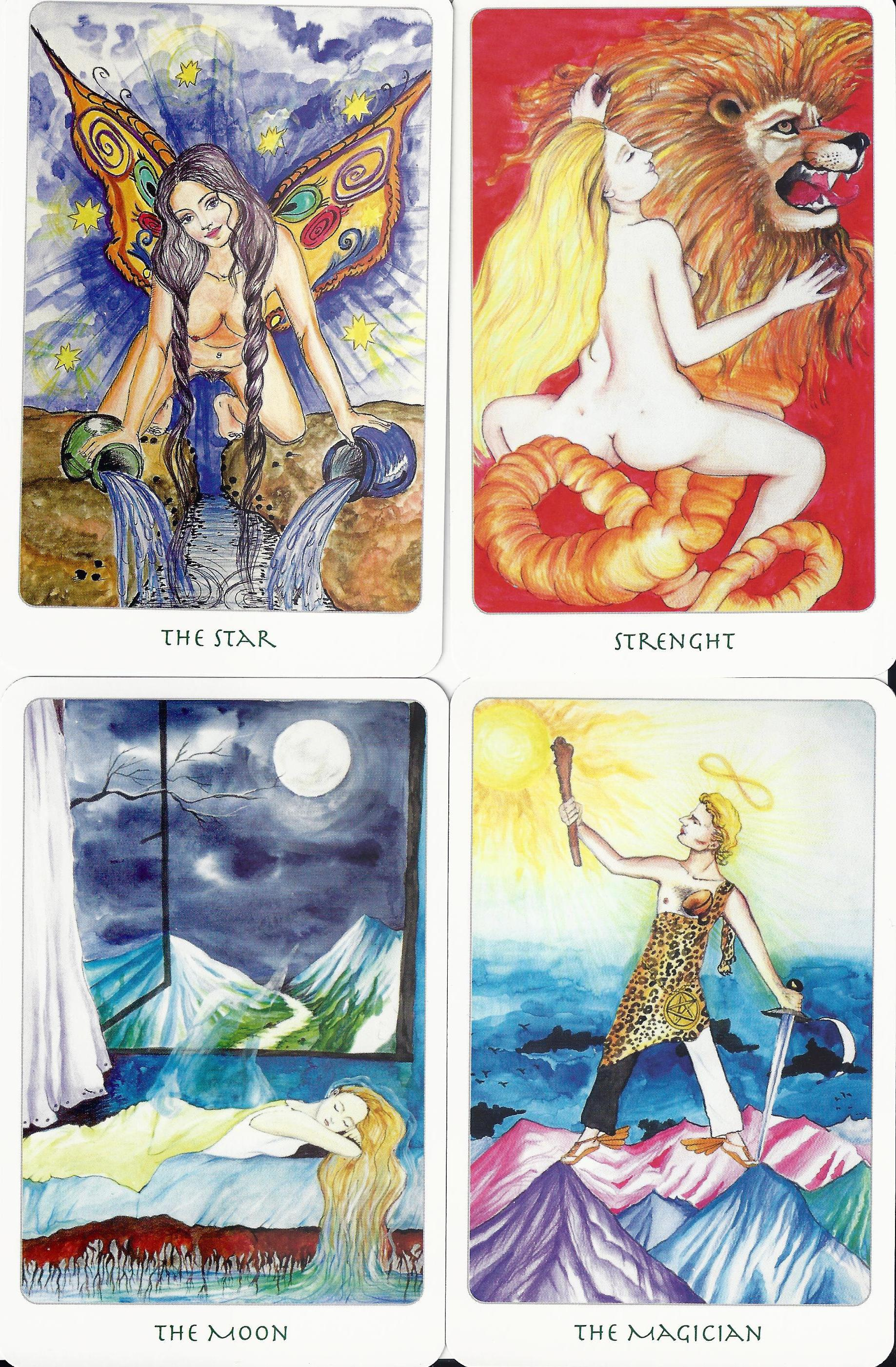 Tarot Deck Exploration