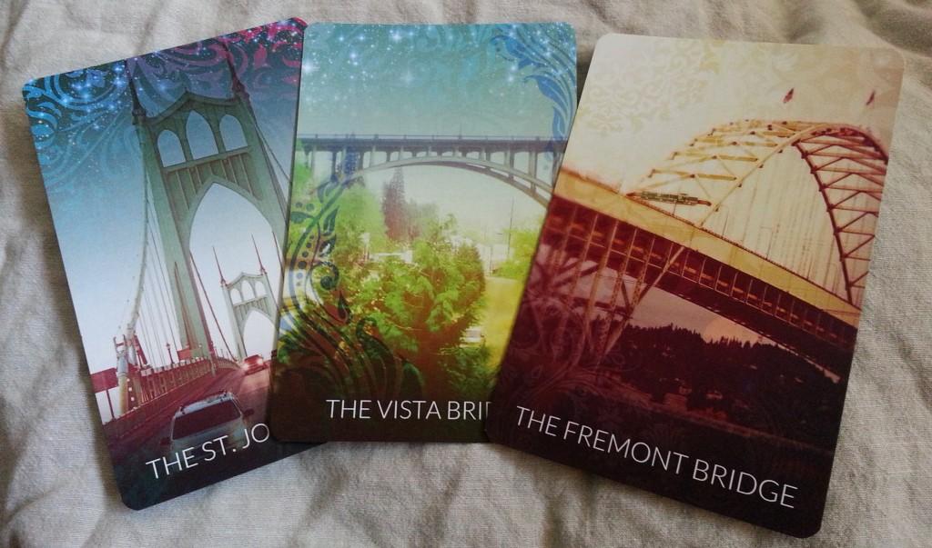 Portland Tarot -Bridge cards