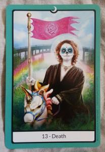 Portland Tarot -Death