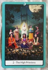 Portland Tarot -High Priestess