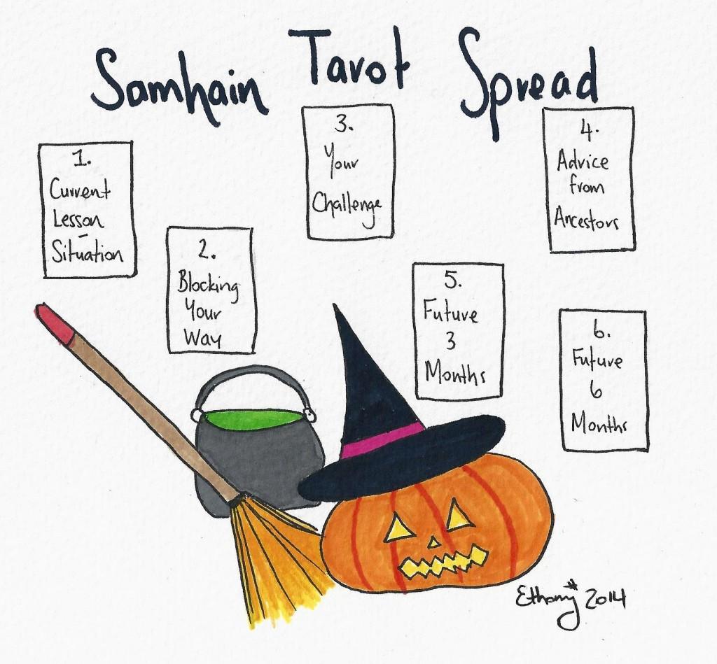 Samhain Tarot Spread