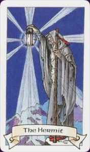The Hermit Robin Wood Tarot