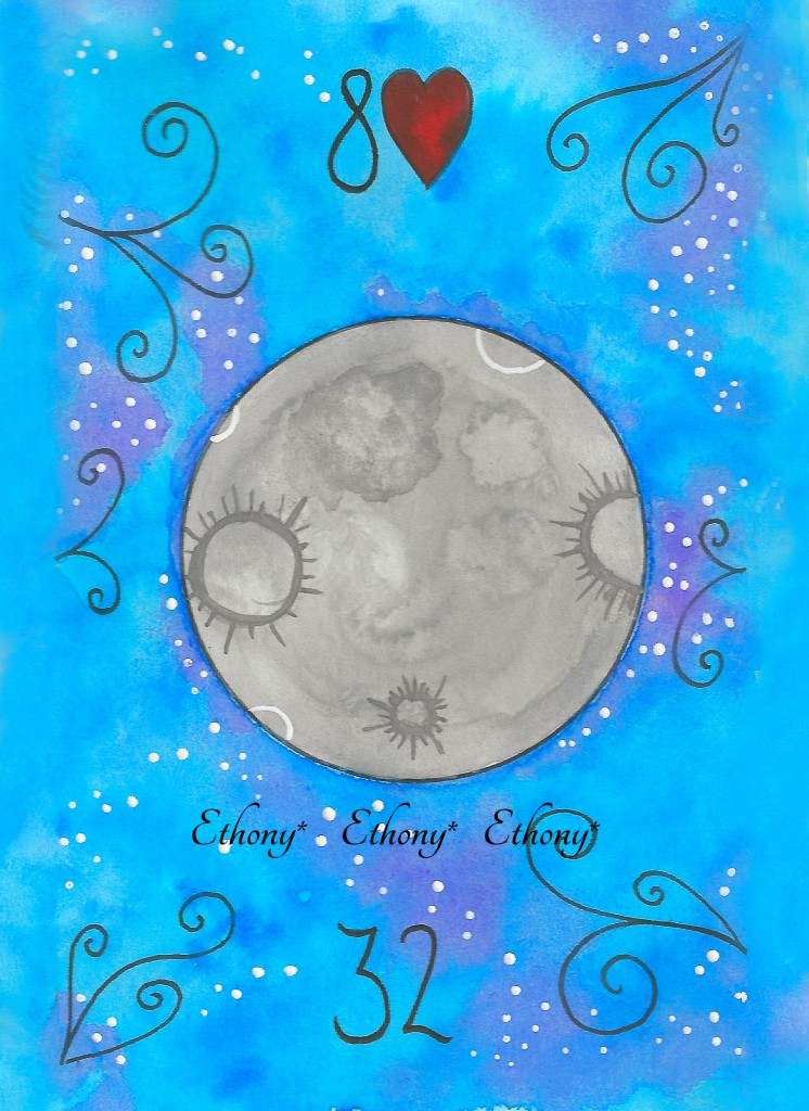 The Moon Lenormand Ethony