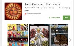 Tarot Appl