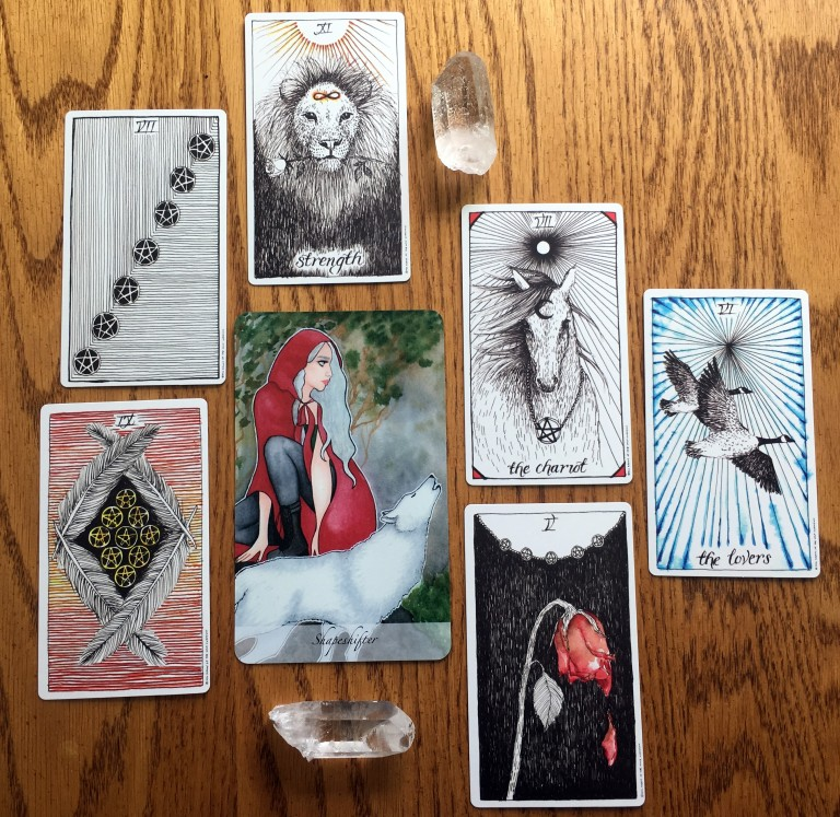 Tarot and Oracle Decks in Readings