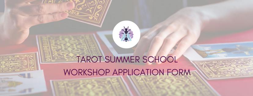 Tarot Summer School Application