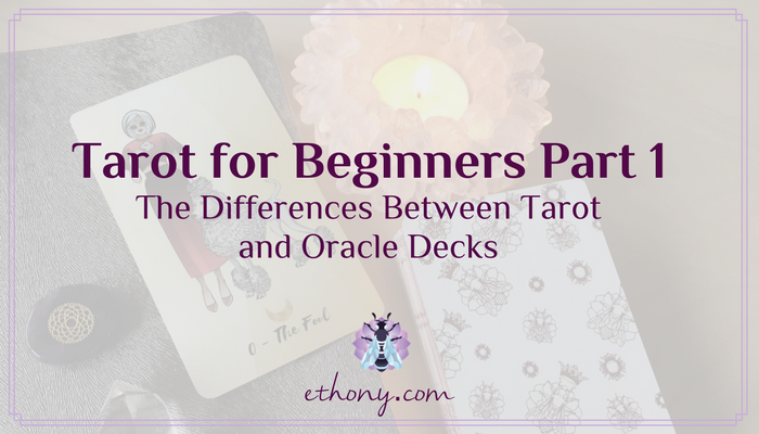 Tarot for Beginners Part 1