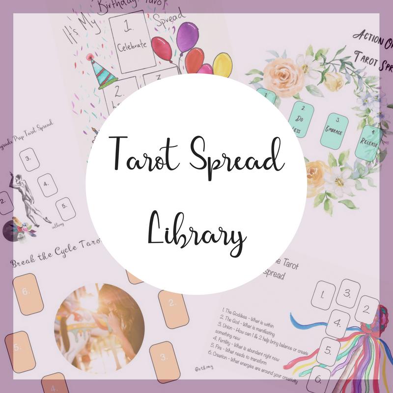 Tarot Spreads - Ethony