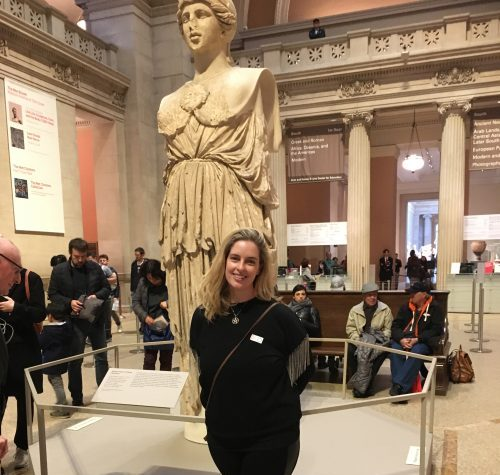 Athena at the MET