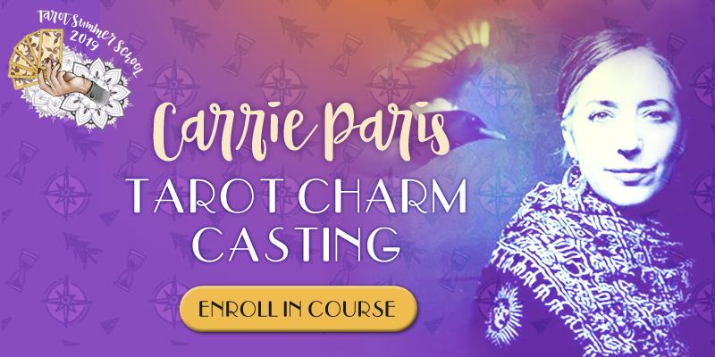 Carrie Paris - Tarot Charm Casting