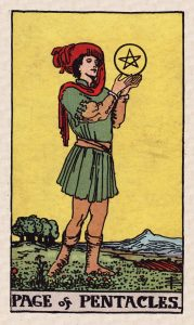 Minors Pentacles C1 Page