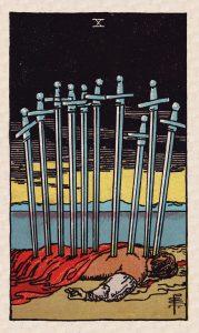 Minors Swords 10