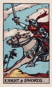 Minors Swords C2 Knight